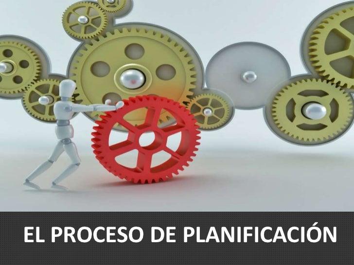 Proceso planificacion