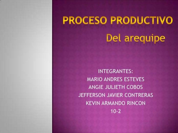INTEGRANTES:   MARIO ANDRES ESTEVES    ANGIE JULIETH COBOSJEFFERSON JAVIER CONTRERAS   KEVIN ARMANDO RINCON            10-2