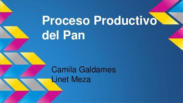 Elaboracion Del Pan Proceso Productivo Del Pan