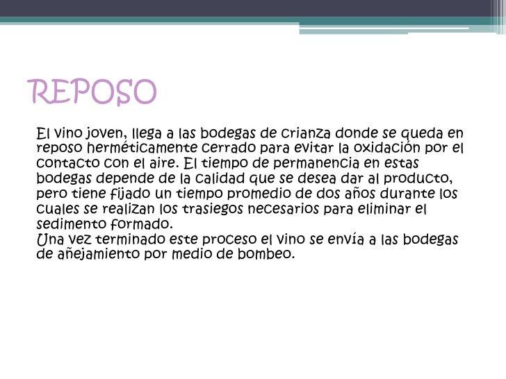 Circuito Productivo Del Vino : Proceso productivo del vino