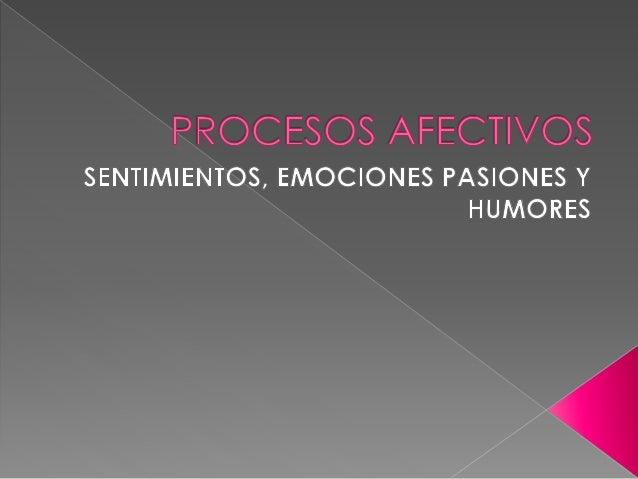  La afectividad es aquel conjunto del acontecer emocional que ocurre en la mente del hombre y se expresa a través del com...