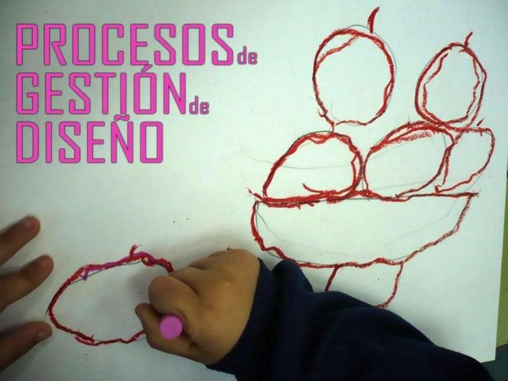 Procesos de gestion de diseño