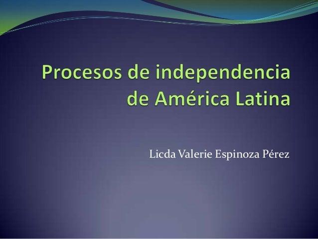 Licda Valerie Espinoza Pérez