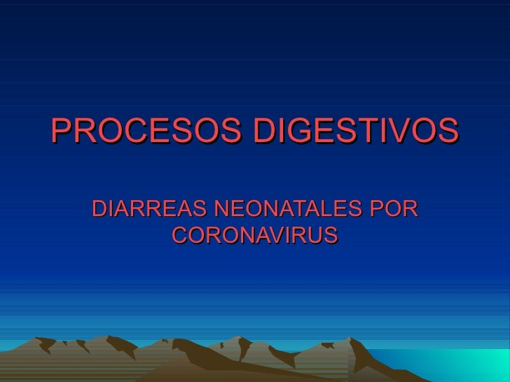 Procesos Digestivos