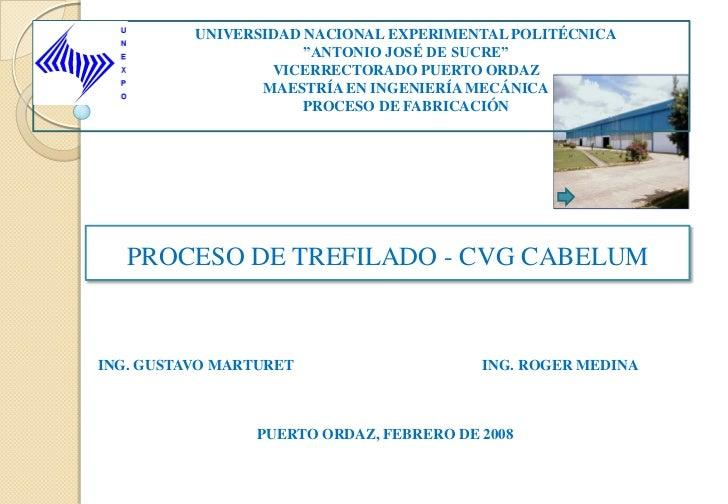 """UNIVERSIDAD NACIONAL EXPERIMENTAL POLITÉCNICA                      """"ANTONIO JOSÉ DE SUCRE""""                  VICERRECTORADO..."""