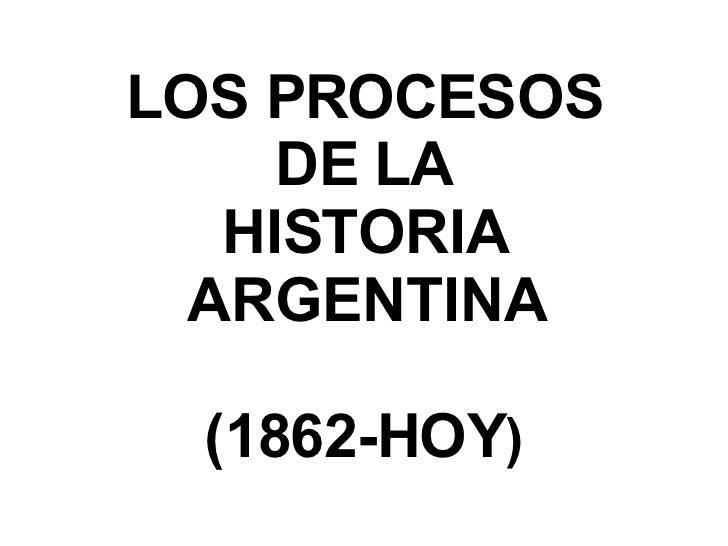 historia argentina linea: