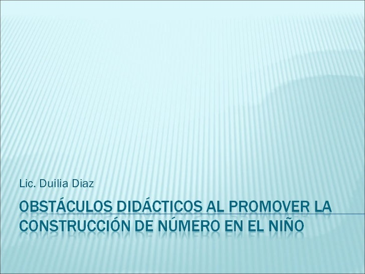 Lic. Duilia Diaz