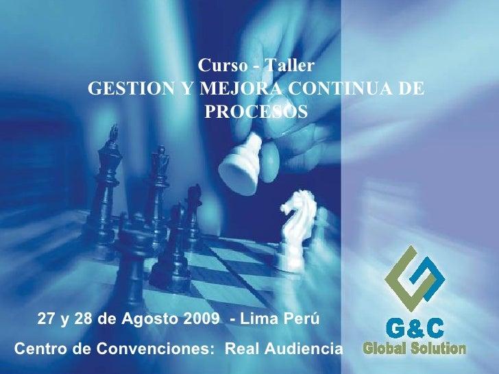 G&C - Procesos