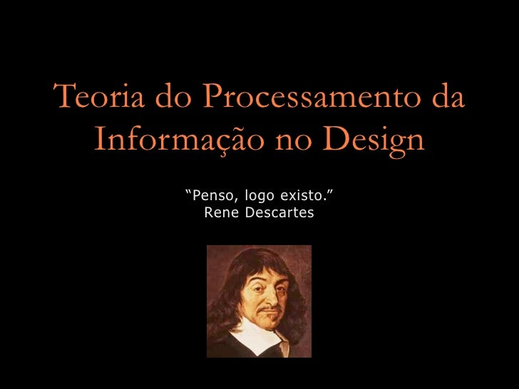 Teoria do Processamento da Informação no Design