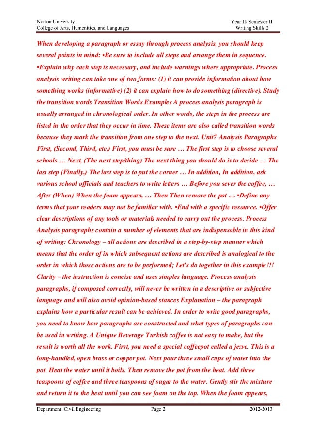 Example Causal Argument Essay