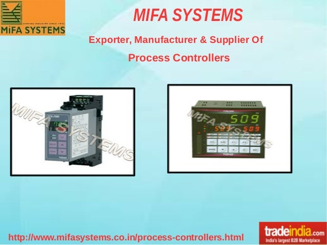 Process Controllers Exporter, Manufacturer, MIFA SYSTEMS, Ahmedabad