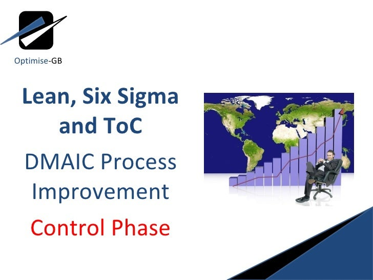 Lean, Six Sigma and ToC DMAIC Process Improvement Control Phase Optimise -GB