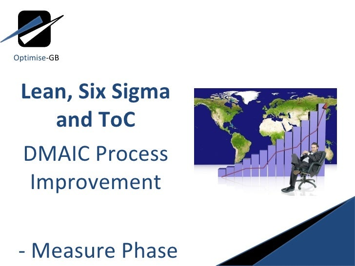 Lean, Six Sigma and ToC DMAIC Process Improvement - Measure Phase Optimise -GB