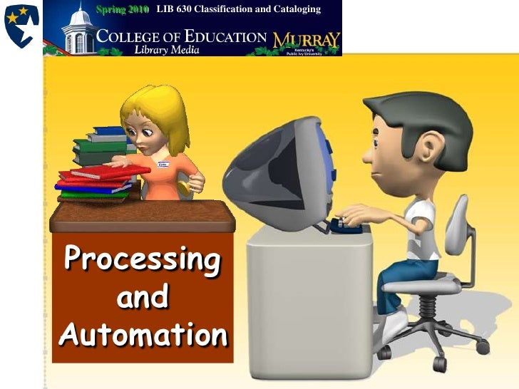 Processing automation 2003