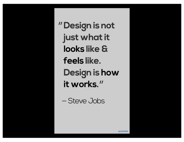 Design Principle: Define what the product will do before you design how the product will do it. -- Alan Cooper (p 114) via...