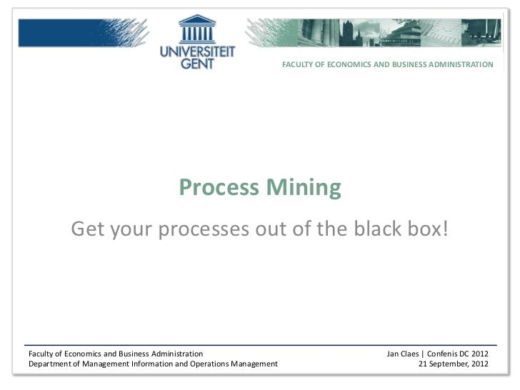 Process Mining by Jan Claes