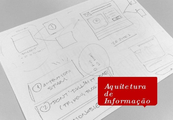 Aquitetura de Informação