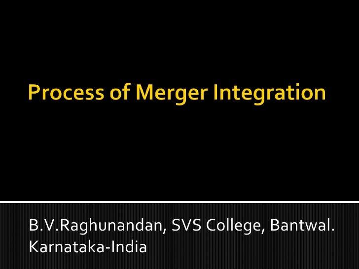B.V.Raghunandan, SVS College, Bantwal. Karnataka-India