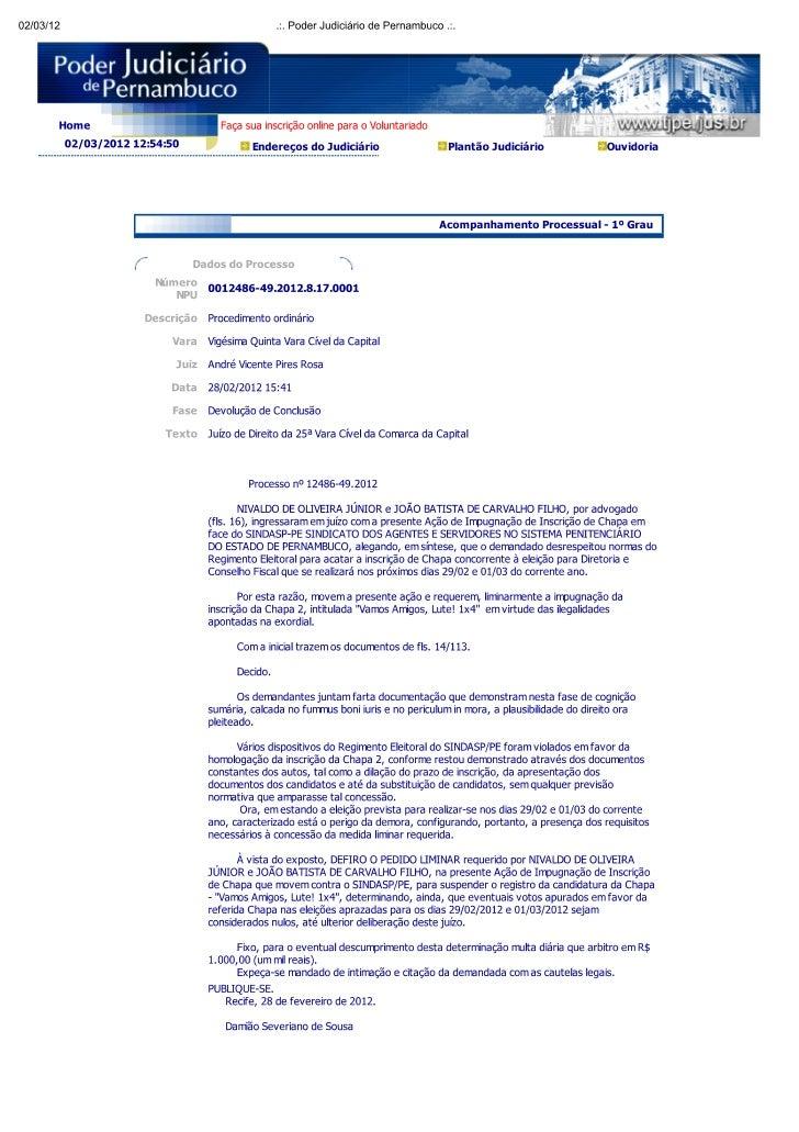 Processo nº 12486 49.2012