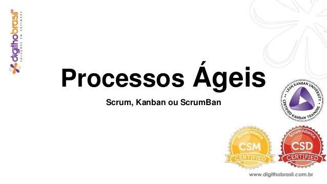 Processos Ágeis Scrum, Kanban ou ScrumBan