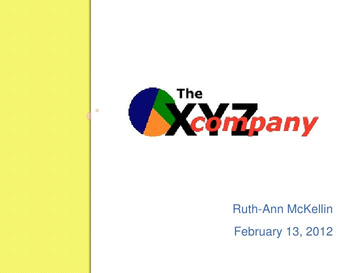 "Ruth-Ann McKellin\'s ""Pitch Book"""
