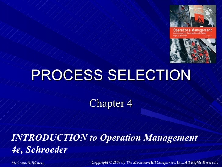 how is the process selection related to product design and capacity determination Bus 644 week 4 dq 1 process selection product design and capacity and capacity how is process selection related to product design and capacity determination.