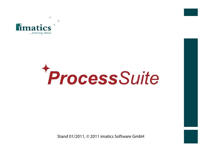 Stand 01/2011, © 2011 imatics Software GmbH