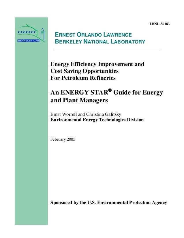 Dr Dev Kambhampati | PROCESS TECHNOLOGY & ENERGY IMPROVEMENTS- PETROLEUM REFINERY