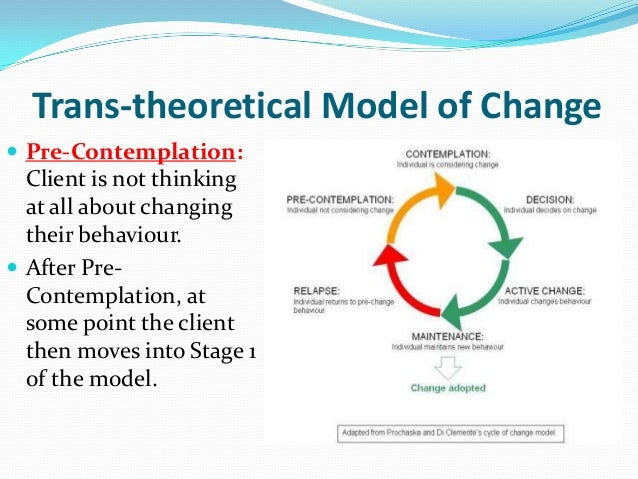 behavior change theories and models in health promotion Health promotion knowledge in order to identify the most practical theories that are able to provide guidance to practice, education, and research behavioral change theories.