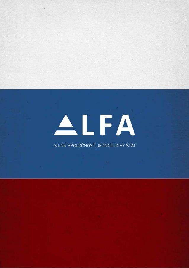 Radoslav Prochazka: ALFA