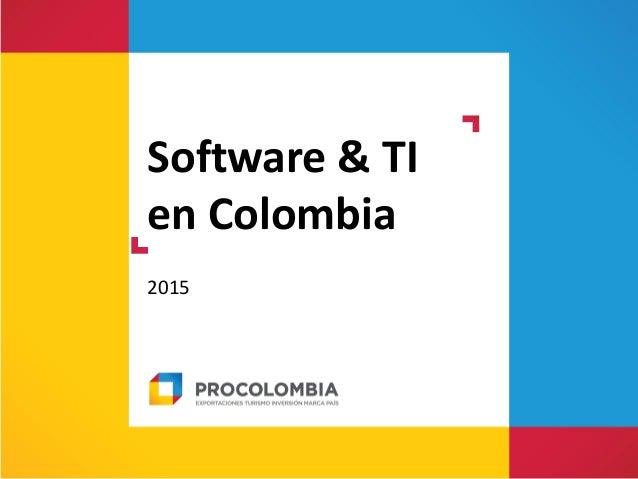 Software & TI en Colombia 2015