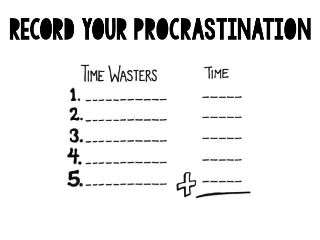 Procrastination Powerpoint