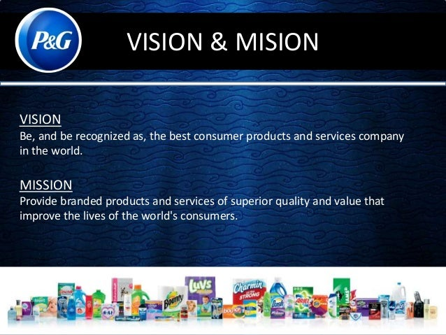 an overview of procter and gamble At p&g, we make products that help make everyday tasks a little easier.