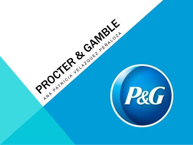 background of procter and gamble Description of the stock pg, procter & gamble company (the), from dividend  channel.
