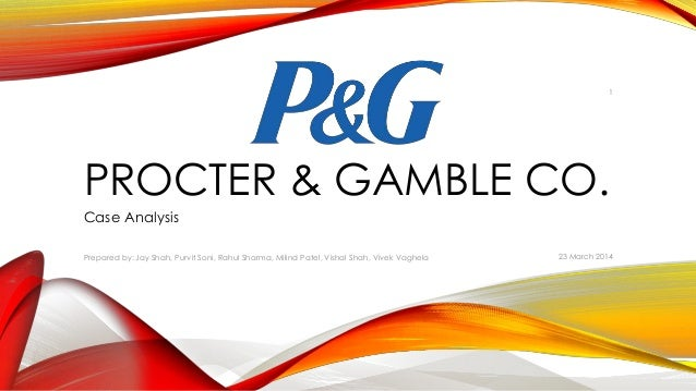 procter and gamble case analysis Learn how we helped procter and gamble (p&g) cut its time to market, cut development costs and put products in consumers' hands faster.