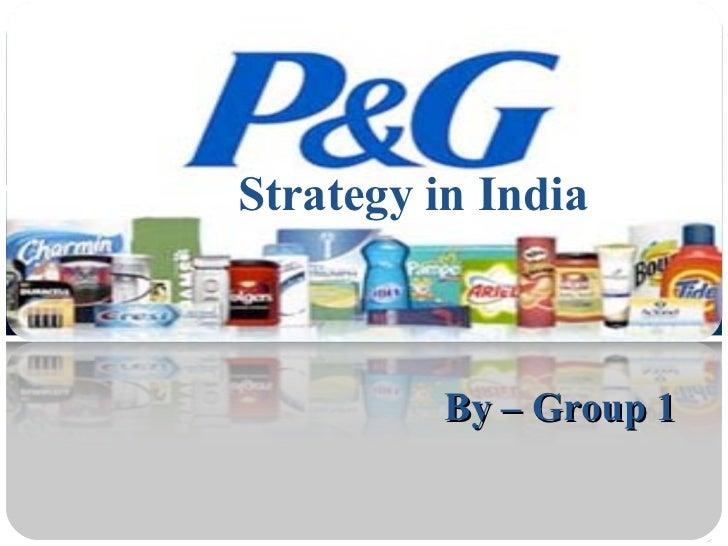 Procter & gamble marketing strategy