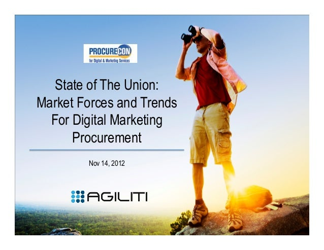 Market Forces and Trends For Digital Marketing Procurement