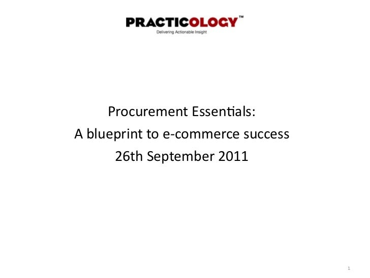 Procurement essentials 1 martin newman uk