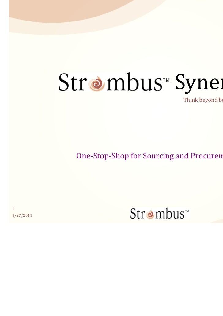 TM                                       Synergy                                        Think beyond boundaries…          ...