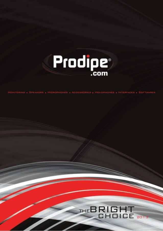 Prodipe   2013  catalogue - english