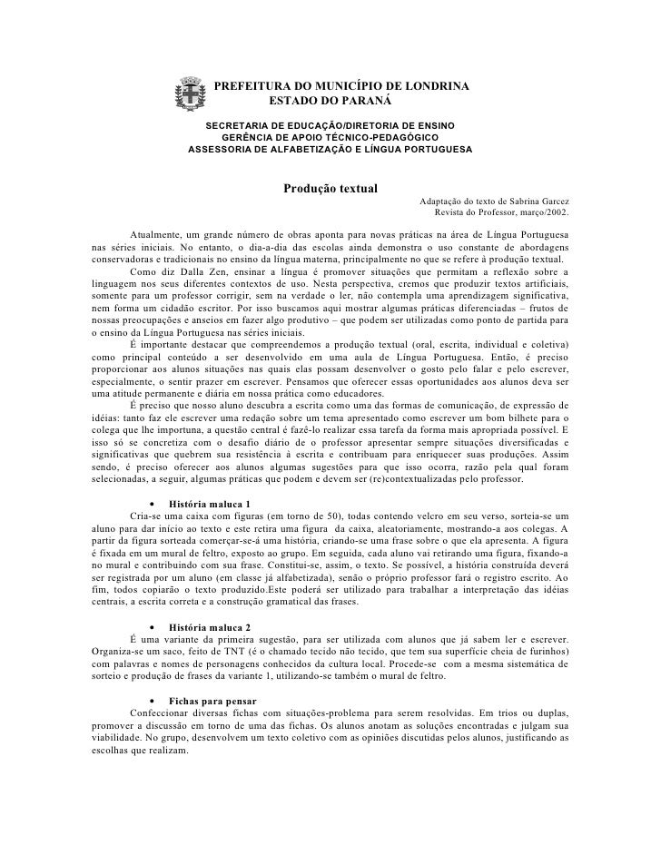PREFEITURA DO MUNICÍPIO DE LONDRINA                                   ESTADO DO PARANÁ                         SECRETARIA ...