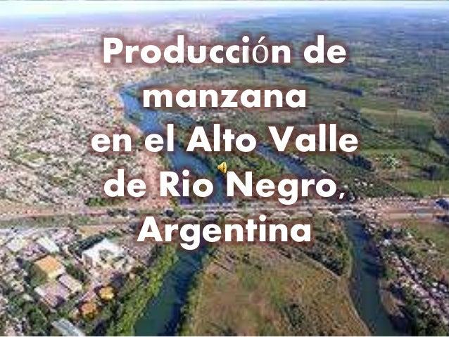 Resultado de imagen para ALTO VALLE RIO NEGRO MANZANA