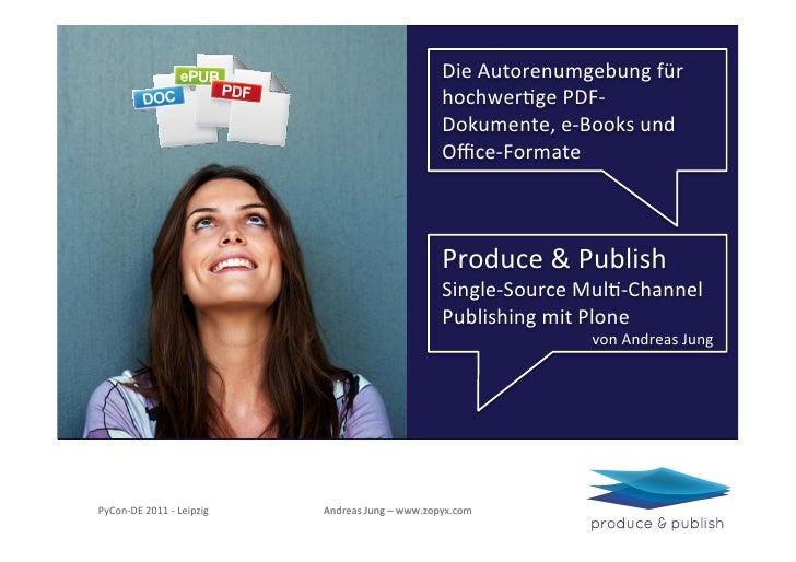 Die Autorenumgebung für                                                                            hochwerFge PDF-...