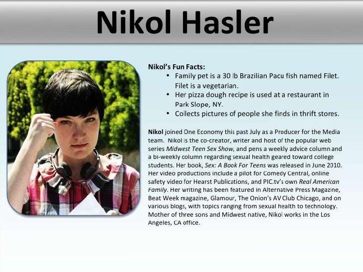 Producer bios