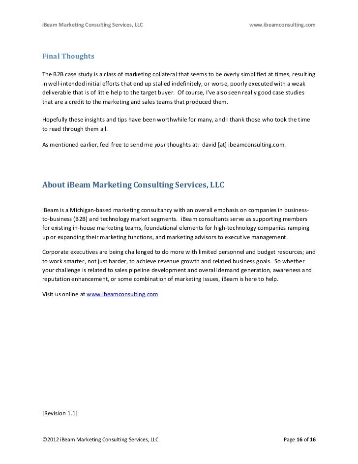 B2B Content Marketing Case Studies with Killer