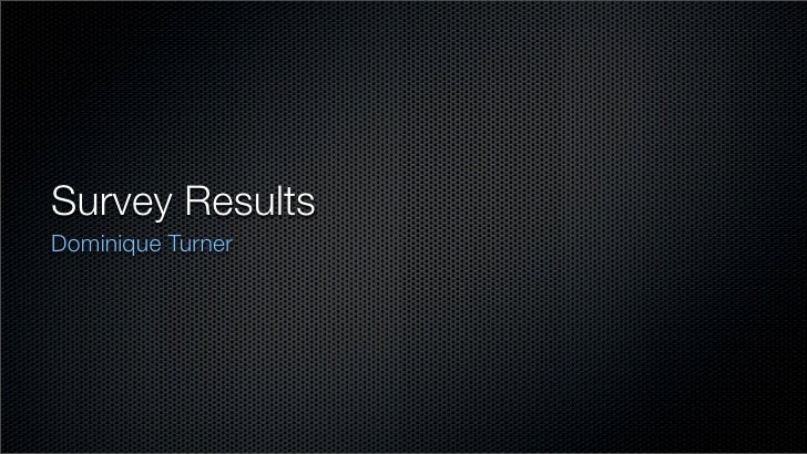 GCPS Survey Results (In Keynote)