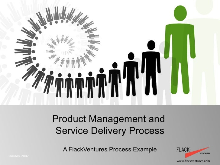 Product Management and  Service Delivery Process A FlackVentures Process Example January 2002 Prometric Technology and Ser...
