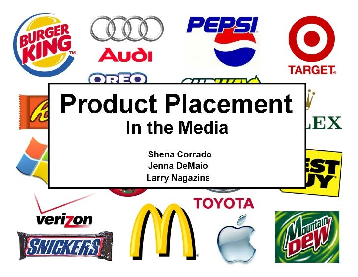 product placement in movies essay