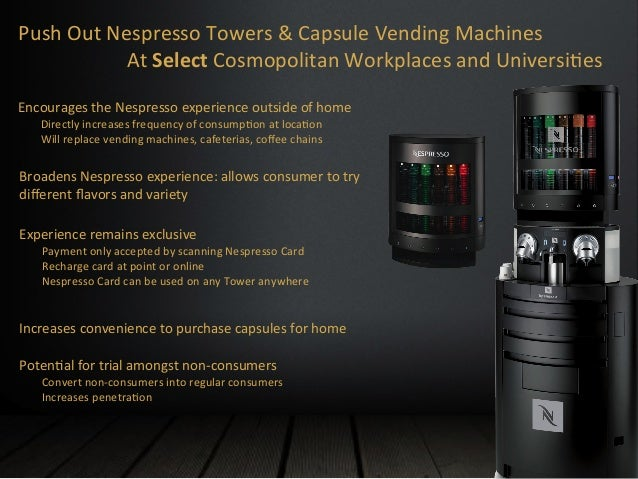 nespresso marketing plan View essay - nespresso study draft rev 2 from mba it 101 at indian institute of technology, chennai feasibility study on nespresso coffee machines & capsules in iran moore stephens together.
