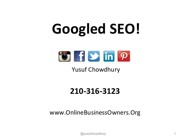 Googled SEO